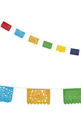 Bright Mexican Fiesta Party Bunting 10m