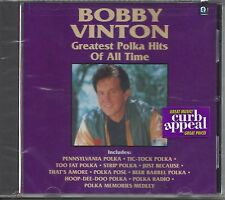 "BOBBY VINTON  ""Greatest Polka Hits Of All Time""  NEW SEALED POLKA CD"