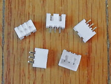 Mini 3 Pin Male Connector Housing with Pins 2.54mm Pitch 5 Pack