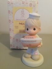 PRECIOUS MOMENT FIGURINE - THANK YOU FOR YOUR MEMBERSHIP - 635243 - MEMBERS ONLY
