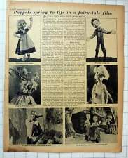 1955 Hansel And Gretel Puppet Film, Michael Myerberg