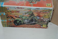"GI JOE / ACTION MAN MOLTO "" MOTORCYCLE "" BOXED  ,NICE SET"
