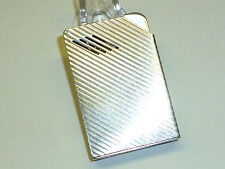 HARVEY AVEDON AUTOMATIC POCKET LIGHTER W. STERLING SILVER CASE - 1938 - U.S.A.