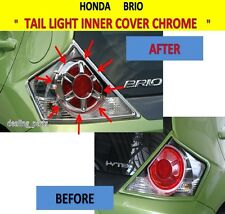 TAIL LIGHT INNER COVER CHROME FOR HONDA BRIO