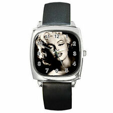 Marilyn Monroe Square Metal Watch Perfect For Any Occasion Great Gift NEW