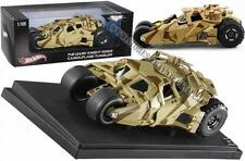 The Dark Knight Rises Camouflage Tumbler Hot Wheels Elite 1:18 Diecast Model Car