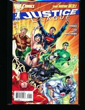JUSTICE  LEAGUE # 1 New 52 HIGH GRADE - DC COMICS  MOVIE COMING  KEY ISSUE  L@@K