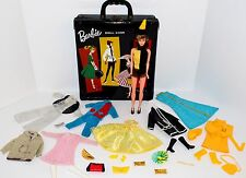 Vintage Contemporary Mixed Barbie Doll Clothes, Shoes, Ponytail Case,.!  Lot #2