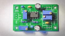 Audio visualizer bandpass filter PCB