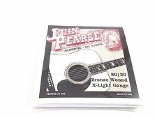 John Pearse Guitar Strings  Acoustic 80/20 Bronze Wound Extra Light #100XL