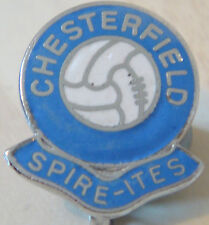 CHESTERFIELD Vintage Goom ball badge Brooch pin In chrome 21mm x 25mm