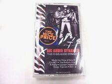 This is Big Audio Dynamite Medicine Show Music Cassette Tape NEW