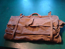 vintage large Military suitcase/bag for clothes, OLD AND COOL luggage