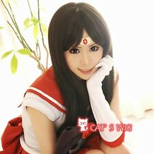 Sailor Moon Mars cosplay wig