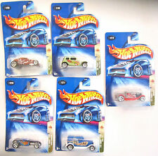 5 Hot Wheels TAT RODS Cars & Trucks Lot ** New in Packages**