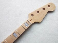 NEW BASS GUITAR NECK  MAPLE 24 FRET, GREAT FOR PROJECT OR REPLACEMENT