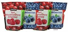 5 Pounds Kirkland Signature Whole Dried Blueberries Montmorency Cherries 4 Bags