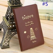 Passport Cover Travel Holder Card ID Holder Passport Package Case