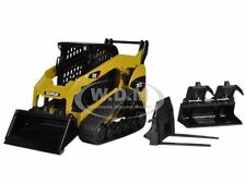 CAT CATERPILLAR 297C MULTI TERRAIN LOADER WITH TOOLS 1/32  MODEL NORSCOT 55168