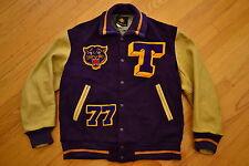 Vintage TOKAY High School TIGERS Hip Hop VARSITY Letterman Jacket Size 44