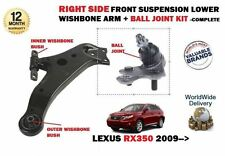 FOR LEXUS RX350 3.5 V6 2009-  NEW RIGHT FRONT WISHBONE ARM + BALL JOINT KIT