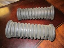 2 yamaha vintage motorcycle step covers new