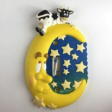 House Of Lloyd Single Light Switch Cover Cow Jumped Over The Moon Stars Nursery
