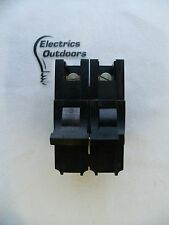 FEDERAL ELECTRIC 10 AMP DOUBLE POLE MCB CIRCUIT BREAKER STABLOK