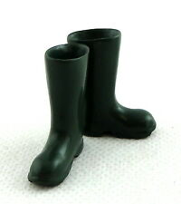 Dolls House Miniature Garden Accessory Green Wellington Boots Wellies 1:12 Scale
