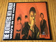 """THE BEATMASTERS - WHO'S IN THE HOUSE  7"""" VINYL PS"""