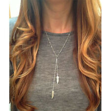 Best Latest Popular Leaf Necklace Tassel Design Suitable For All Ladies Perfect