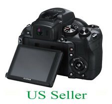 2pcs Fujifilm FinePix HS30EXR Clear LCD Screen Protector Guard Shield Film