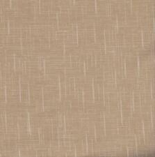 QUILT FABRIC: 100% COTTON, LINEN WEAVE, BEIGE,  FL-06, Tonal blender BTY