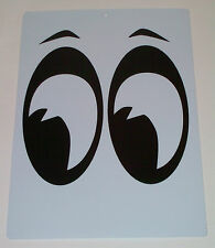 You Are Being Watched Eyeballs Man Cave Garage Band Sign Black and White Color