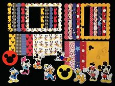 Mickey Mouse Disney 30 Embellishment paper images scrapbooking