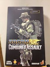Hot Toys SOCOM US Navy Seals Combined Assault Military Action Figure 12 inch NEW