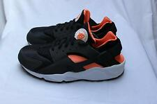 Nike Air Huarache - Black / Total Orange - UK 11