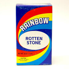 Rainbow Products Rotten Stone Abrasive Powder For Furniture Finishing 1 Lb.