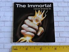 BEER STICKER ~*~ ELYSIAN Brewing Co The Immortal IPA ~ Various Seattle Locations