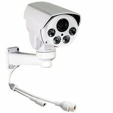 CCTV 1080P 2MP 10x Zoom POE IR80M IP66 Mini Outdoor PTZ Camera + 8GB Memory Card