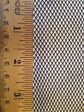 "Mosquito netting/net fabric mesh 72"" wide by the yard, black color, by Skeeta"