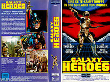 "VHS - "" Galaxy HEROES ( Captain Power: The Beginning ) "" (1989) - Tim Dunigan"