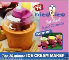 The 20 Minute Ice Cream Yogurt  Maker