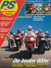 PS9109 + APRILA 600 Pegaso vs. GILERA RC 600 C + HONDA NX 650 + PS 9/1991