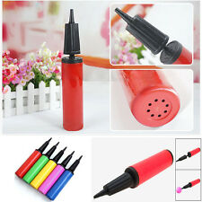 New Hand Held Dual Action Plastic Balloon Air Pump Inflator Party Wedding Game