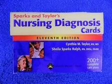 Nursing Diagnosis Cards by Cynthia M.Taylor and Sheila M.Sparks RN MS DNSc FAAN