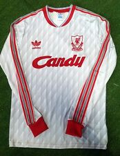 Liverpool away 1989/1990 retro shirt candy jersey Size S M