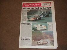 Motoring News 7 October 1976 Lindisfarne & Illuminations Rally Canadian GP etc