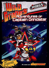 Wild Grinders: Adventures With Captain Grindstar, New DVD, Erin Fitzgerald, Chel