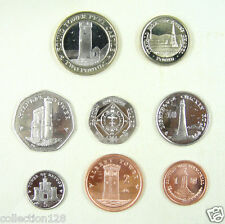 Isle of Man Coins Set of 8 Pieces 2011 UNC